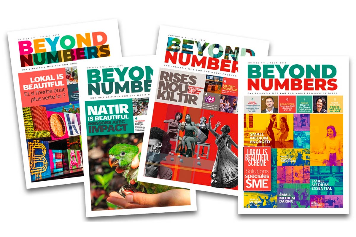 Beyond Numbers - Editions